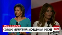 Melania Trump's speech plagiarized parts of Michelle Obama's 2008 speech to the Democratic