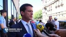 """Prolongation de l'état d'urgence: """"Tout ce qui permet l'efficacité doit être examiné"""", déclare Valls"""