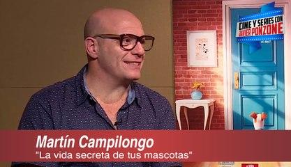 """""""La vida secreta de tus mascotas"""" a solas con Martín Campi"""