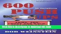 Read 600 Push-ups 30 Variations Ebook Online