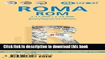 Download Laminated Rome City Streets Map by Borch (English, Spanish, French, Italian and German