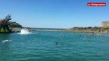 Saint-Malo. Rafraichissante, la piscine d'eau de mer de Bon-Secours