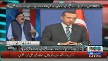 Fazal ur Rehman ka koi pata nahi k tank k aagay lait jae aur koi nahi letay ga- Shaikh Rasheed