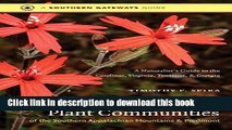Download Books Wildflowers and Plant Communities of the Southern Appalachian Mountains and