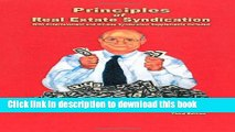 Read Principles of Real Estate Syndication: With Entertainment and Oil-Gas Syndication Supplements