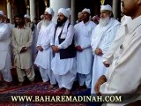 Khwaja Pir Alauddin Siddiqui in Masjid Nabawi Sharif ~ Crowd Recitation of Salam-e-Raza