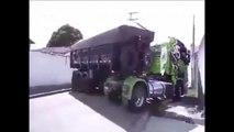 Amazing Truck Green & Black Viral Video 2016 | Amazing Truck Stunt | Movable Truck ,Amazing Truck