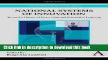 Read National Systems of Innovation: Toward a Theory of Innovation and Interactive Learning  Ebook