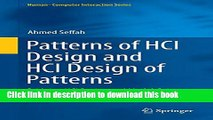 Read Patterns of HCI Design and HCI Design of Patterns: Bridging HCI Design and Model-Driven