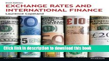 Read Exchange Rates and International Finance 6th edn (6th Edition)  Ebook Free