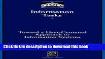 Read Information Tasks (Library and Information Science) (Library and Information Science)