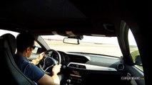 Suivez un tour chrono du circuit de la Ferté Gaucher à bord de la Mercedes C63 AMG avec Soheil Ayari