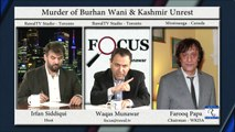 Human rights violations in Kashmir + Lords Test + Turkey coup attempt and Pakistan  Focus with Waqas Munawar Ep259