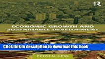 Read Economic Growth and Sustainable Development  Ebook Free