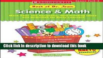 Download Best Of Dr. Jean: Science   Math: More Than 100 Delightful, Skill-Building Ideas for
