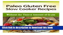 Read Books Paleo Gluten Free Slow Cooker Recipes: Without the Tiniest Amount of Grain (Paleo