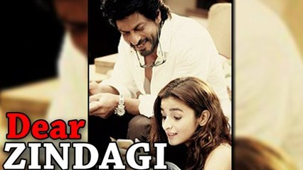 Dear Zindagi FIRST LOOK Ft. Shahrukh Khan, Alia Bhatt Out