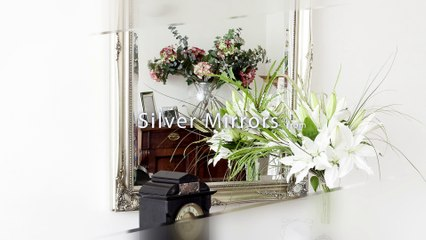 Silver Mirrors - Decorative Mirrors Online  - UK Mirror Specialists