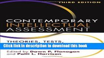 Read Book Contemporary Intellectual Assessment, Third Edition: Theories, Tests, and Issues E-Book