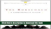 Read Book The Rorschach, Basic Foundations and Principles of Interpretation Volume 1 ebook textbooks