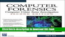 Download Computer Forensics: Computer Crime Scene Investigation PDF Online