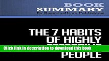 Download Summary: The 7 Habits of Highly Effective People - Stephen R. Covey: An Approach To