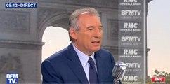 François Bayrou dénonce «un climat d'utilisation électoraliste du drame national»