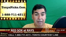 Tampa Bay Rays vs. Boston Red Sox Pick Prediction MLB Baseball Odds Preview 6-29-2016