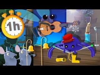 Sur le Plancher une Araignée - Chansons pour Bébés avec Paroles