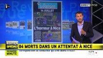 Attentats à Nice : la presse internationale sous le choc après le drame