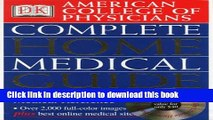Read American College of Physicians Complete Home Medical Guide (with Interactive Human Anatomy