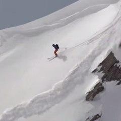 Julien Lopez sobrevive a uma avalanche