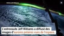 Des aurores polaires vues de l'espace