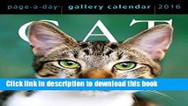 Read Cat Page-A-Day Gallery Calendar 2016  Ebook Free