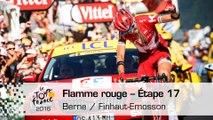 Flamme rouge - Étape 17 (Berne / Finhaut-Emosson) - Tour de France 2016