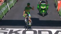 Wheeling de Peter Sagan - Étape 17 / Stage 17 (Berne / Finhaut-Emosson) - Tour de France 2016