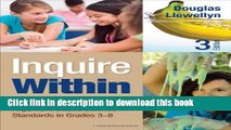 Read Books Inquire Within: Implementing Inquiry- and Argument-Based Science Standards in Grades