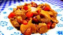 POLLO CON ALMENDRAS - recetas de cocina faciles rapidas y economicas - comidas ricas