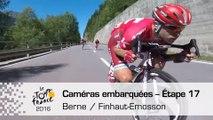 Onboard camera / Caméra embarquée - Étape 17 (Berne / Finhaut-Emosson) - Tour de France 2016