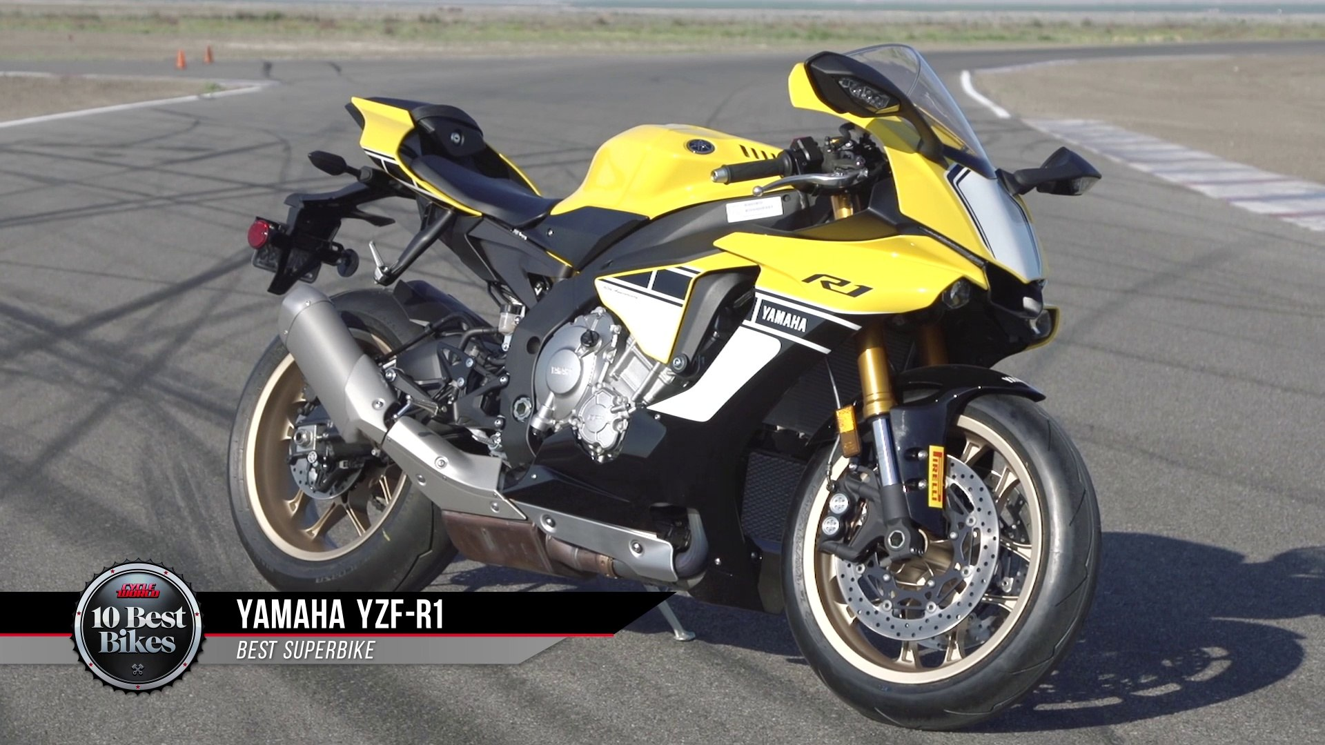 2016 Best Superbike - Yamaha YZF-R1