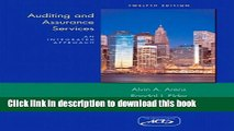 Download Books Auditing and Assurance Services (12th Edition) Ebook PDF