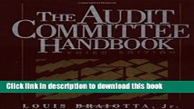 Read Books The Audit Committee Handbook E-Book Download