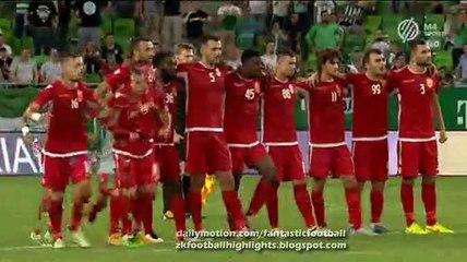 All Goals & Penalties HD - Ferencváros 1-1 (1:3 PK) Partizani - Champions League 20.07.2016