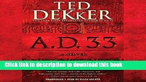 Download A.D. 33: A Novel: A.D., Book 2  Ebook Free