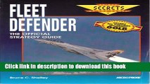 Read Fleet Defender: The Official Strategy Guide (Prima s Secrets of the Games)  Ebook Free