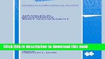 [PDF] Advances in Quantitative Asset Management (Studies in Computational Finance) Read Online