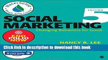 Read Social Marketing: Influencing Behaviors for Good  Ebook Free