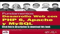 Read Desarrollo Web con PHP 6, Apache y MySQL / Beginning PHP 6, Apache and MySQL Web Development