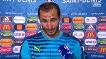 Intervista di Giorgio Chiellini dopo Italia vs Spagna~Euro 2016