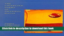PDF The Collected Poems of Odysseus Elytis [Download] Online
